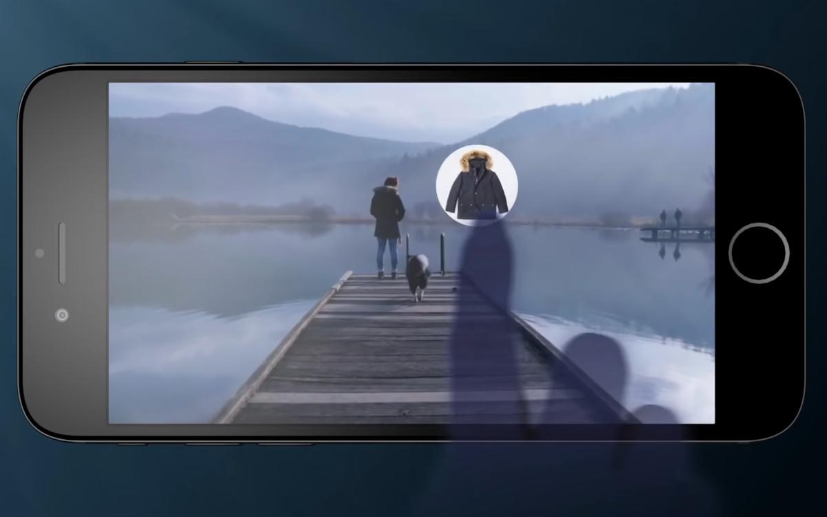 Mit der Video-Technologie von Paronym können Produkte in Videos oder Streams berührt werden, um weitere Infos zu erhalten (Foto: Screenshot)