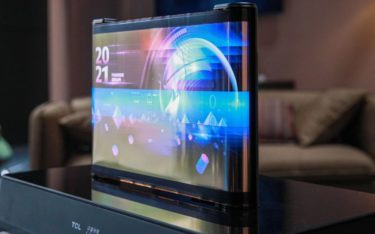 17-Zoll Printed OLED Scrolling Display von TCL CSOT (Foto: TCL)