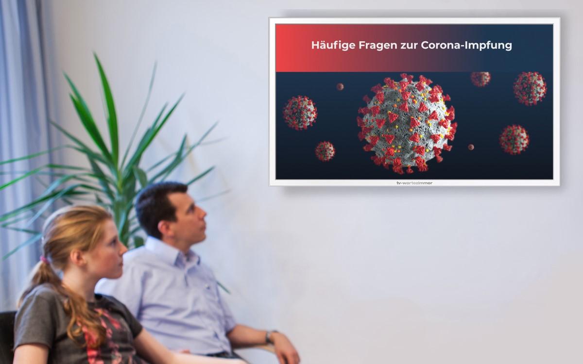 """Klares Statement gegen Infodemie – TV-Wartezimmer hat einen neuen Film über die """"Corona-Impfung"""" im Programm (Foto: TV-Wartezimmer)"""