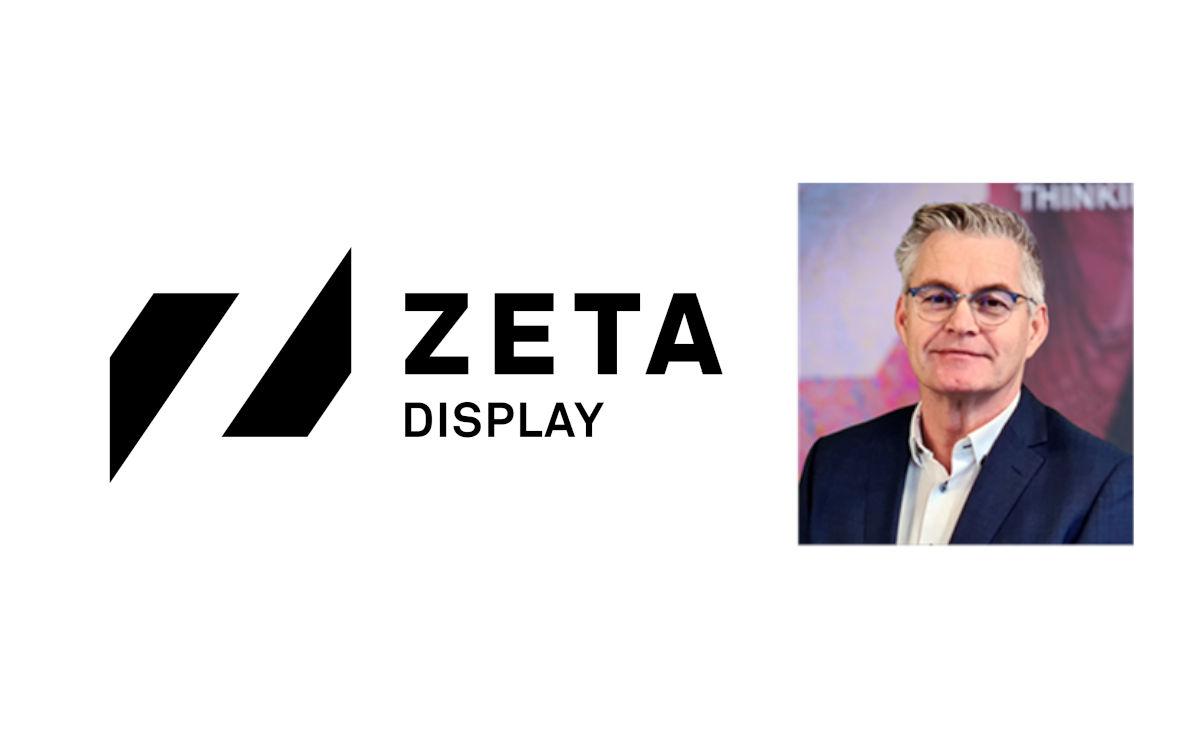 Hans van't Hoff wird neuer COO bei ZetaDisplay NL (Foto: ZetaDisplay)