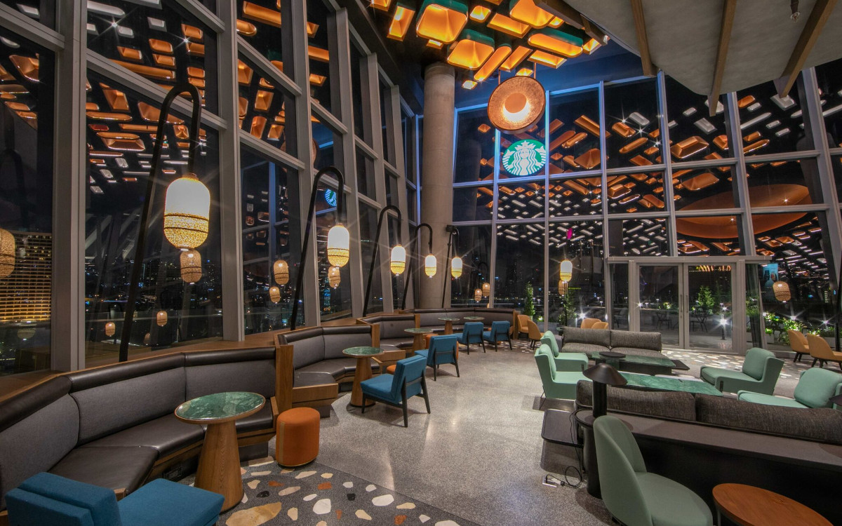 Starbucks Iconsiam in Bangkok - Thailand trifft Seattle (Foto: Starbucks)