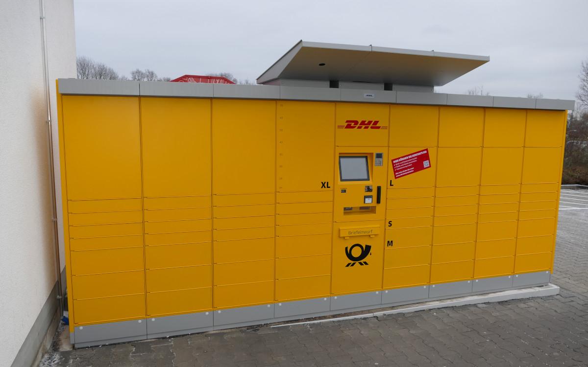 Poststation mit Videofunktion (Foto: Deutsche Post DHL)