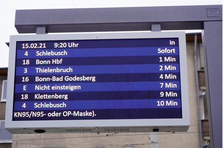 Köln setzt auf LCD (Foto: KVB)