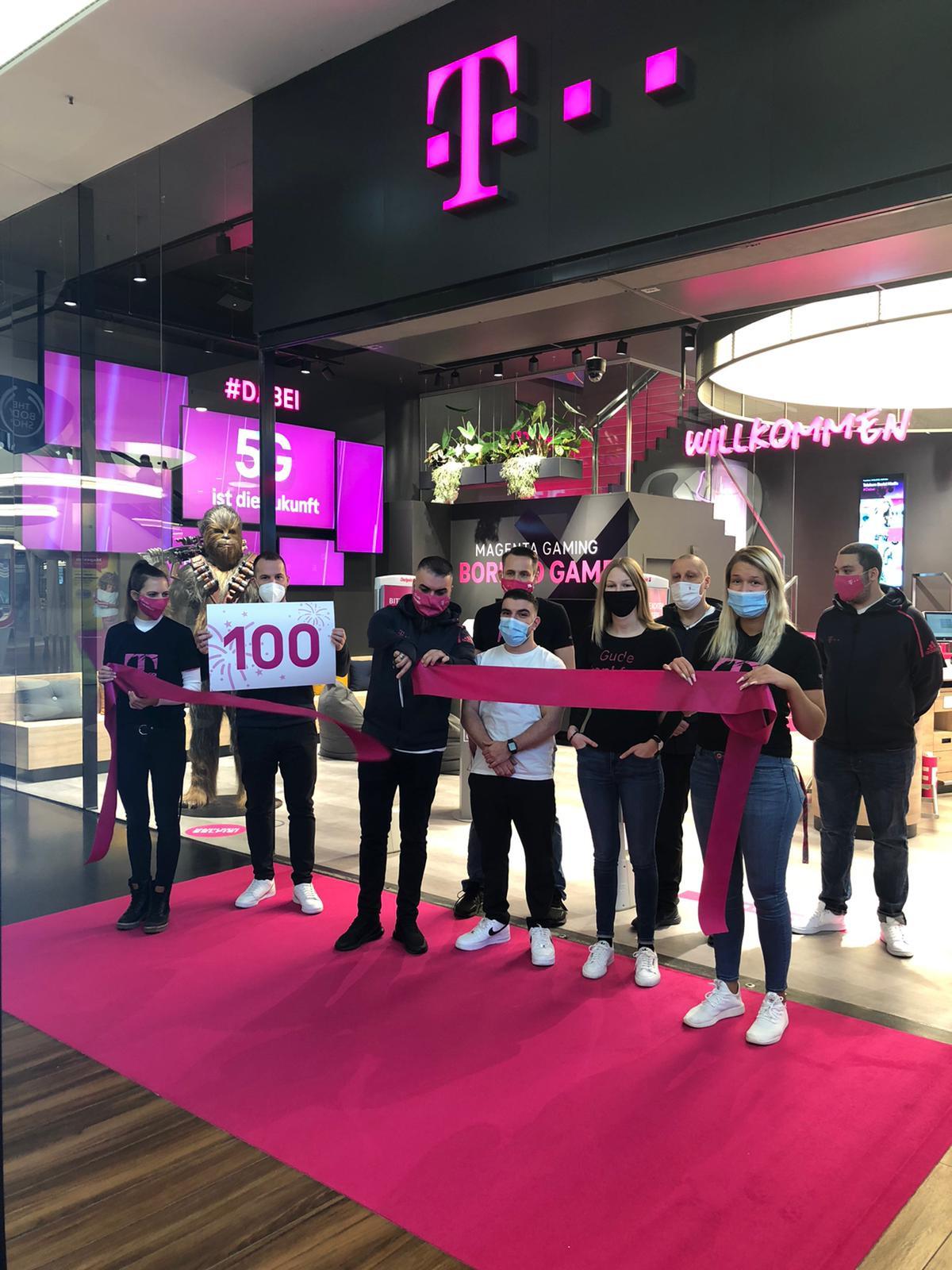 Eröffnung des 100. Telekom Stores im neuen Design (Foto: Telekom)