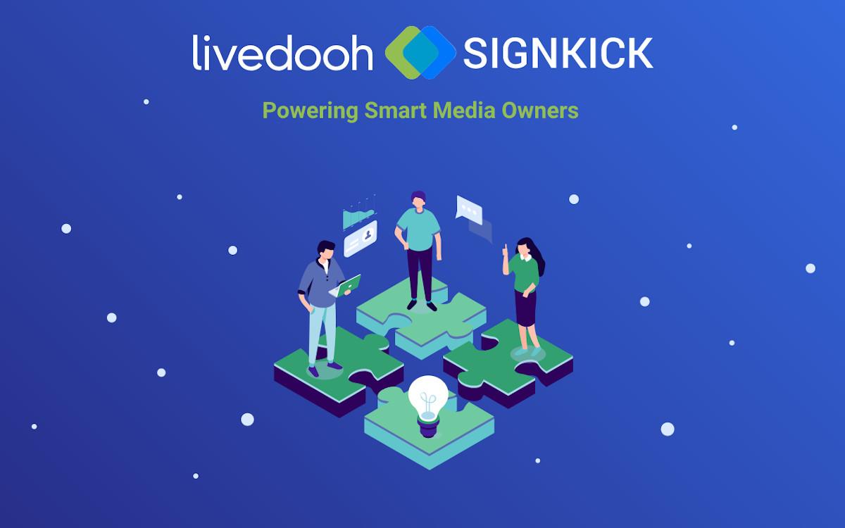 LiveDooH und Signkick fusionieren (Foto: Unternehmen)