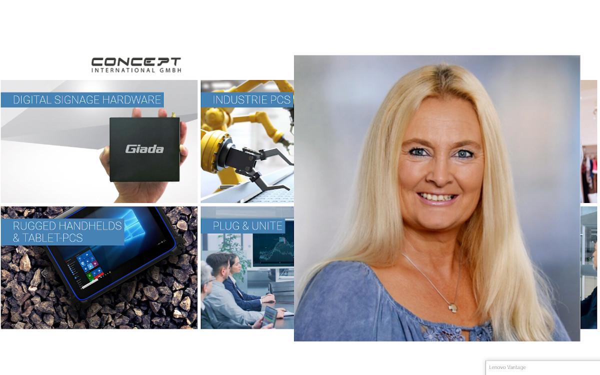 Susanne Gomez wechselt zu Concept (Foto: Collage)