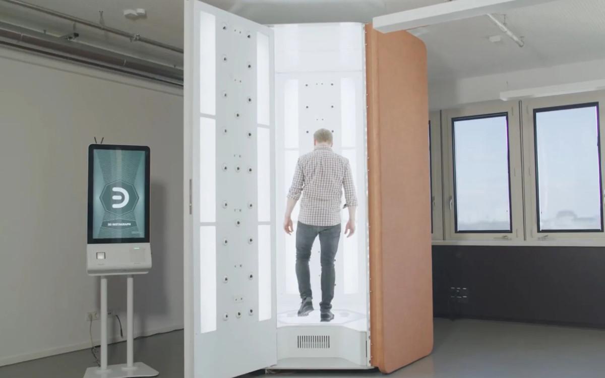 3D-Fotogrammetrie-Scanner von NeXR, der bald in ausgewählten H&M-Filialen stehen soll (Foto: NeXR Technologies)