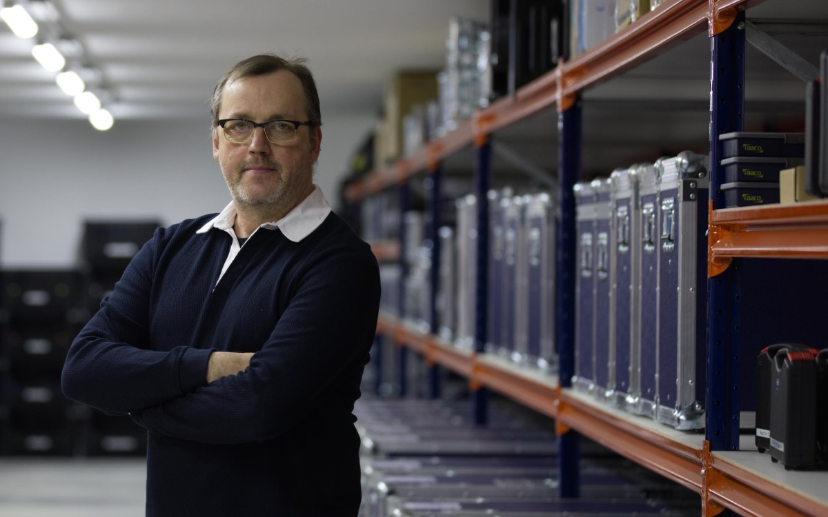 Maik Blaum übernimmt die technische Leitung bei Event-Dienstleister Bildkraft (Foto: Bildkraft)