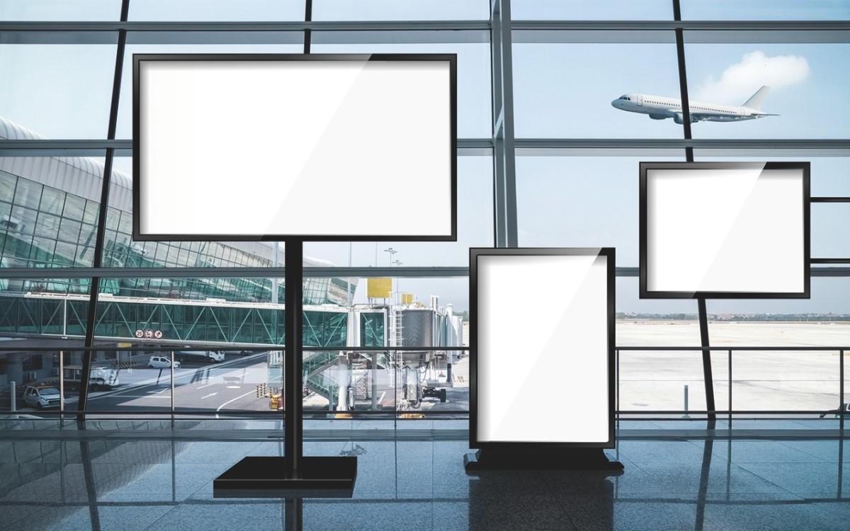 Kompakte Axial- und Radiallüfter von ebm-papst sorgen dafür, dass Digital Signage kühl bleibt (Foto: ebm-papst)