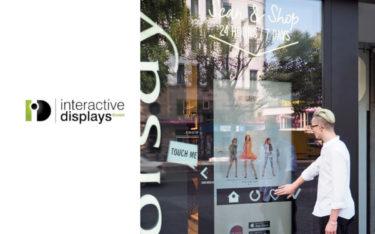 Mit den Schaufenster-Sensoren von Interactive Displays werden schnöde Scheiben zum interaktiven Touchpoint (Foto: Interactive Displays(Orsay)