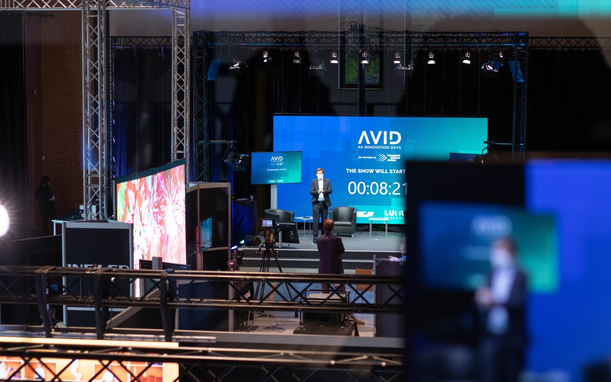 Behind the Scenes der AVID in Lindlar (Foto: Lang AG)