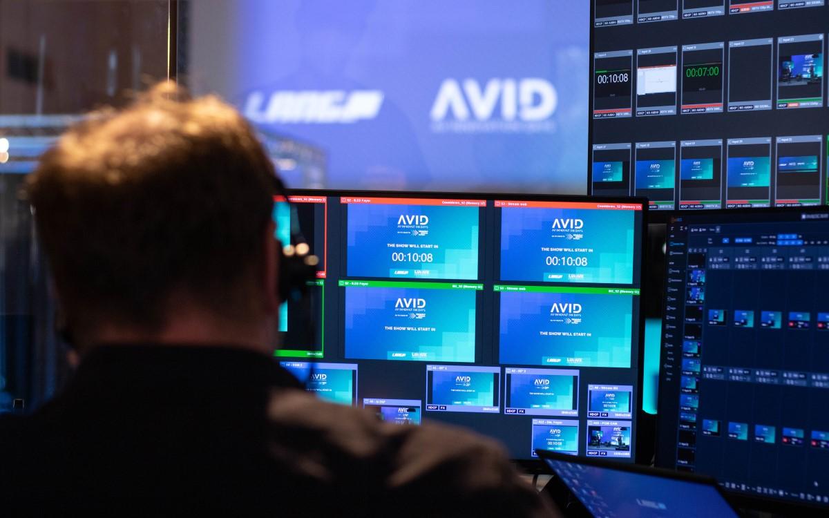 Behind the Scenes der AVID in Lindlar (Foto: Lang AG)