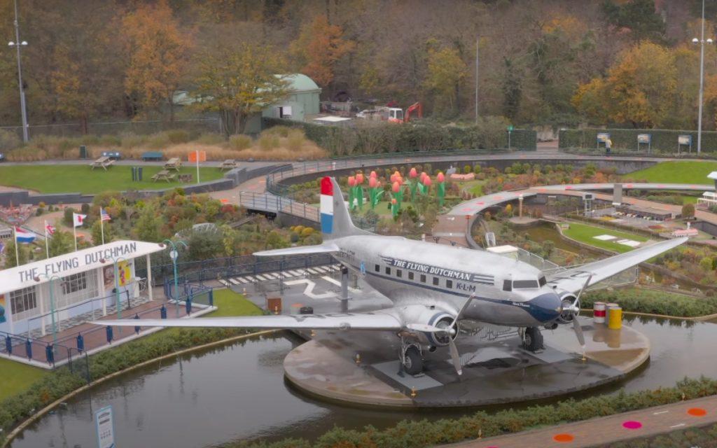 The Flying Dutchman im Madurodam Park in Den Haag (Foto: LG)