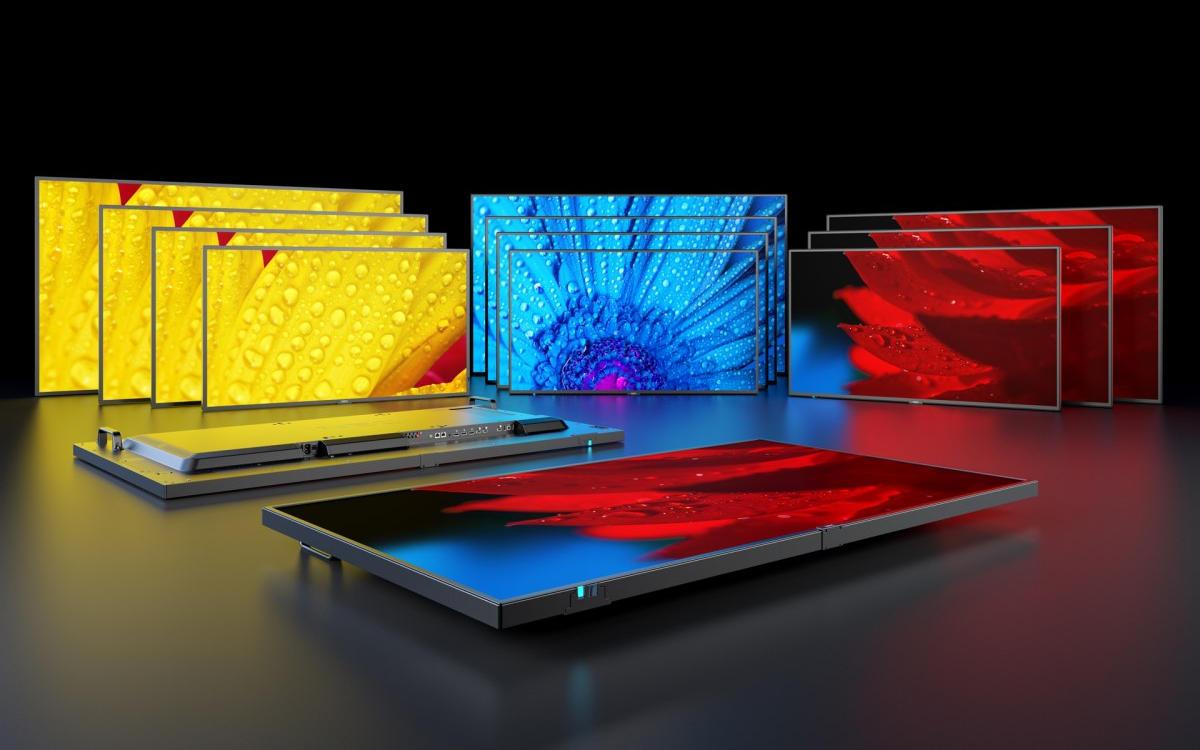Sharp/NEC bringt mit dem MESSAGE Line-up eine neue Generation an Large Format Displays auf den Markt (Foto: Sharp/NEC)