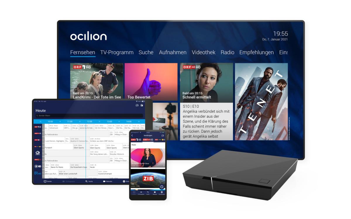 IPTV-Produkte von Ocilion (Foto: Ocilion)