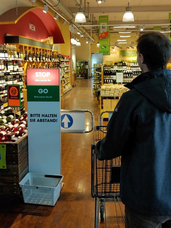 CountMe – der digitale Kundenzähler von Netvico (Foto: Netvico)