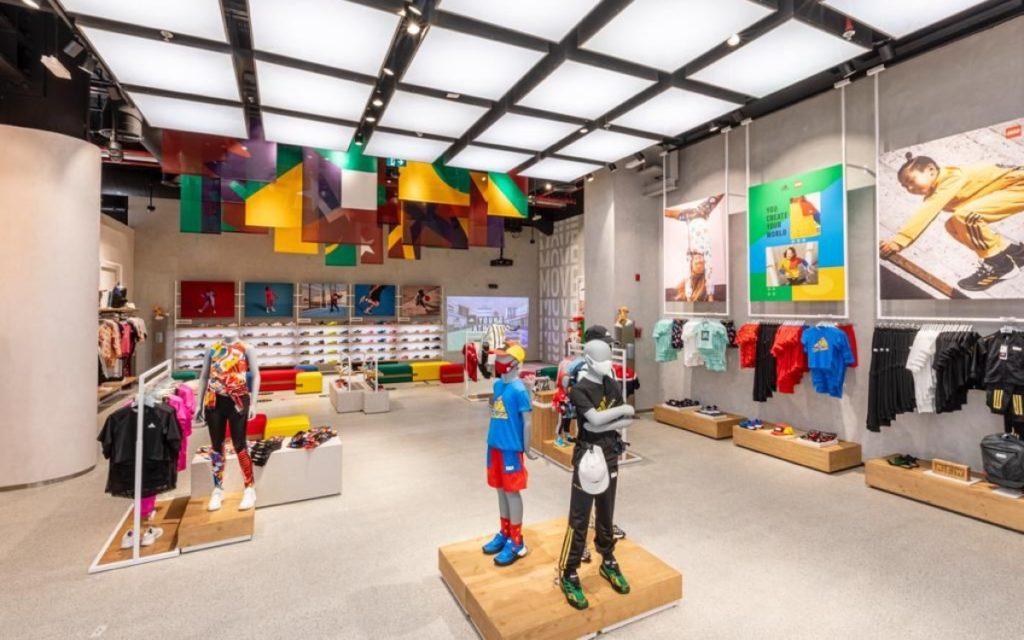 Der neue Adidas Flagshipstore in der Dubai Mall (Foto: Adidas)
