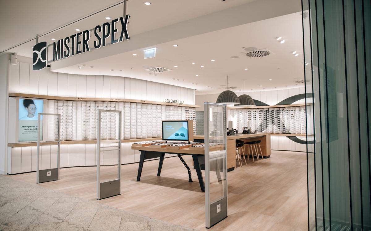 Digital Signage in Mister Spex Filialen (Foto: Mister Spex)