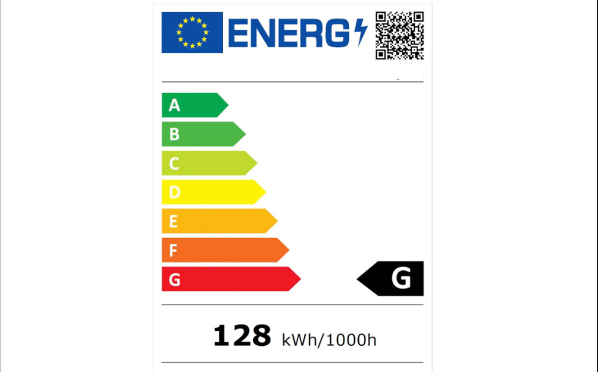 Neue Energielabel stufen Digital Signage Displays zurück (Foto: Screenshot)