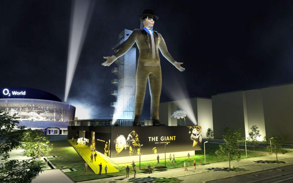 The Giant - die höchste bewegliche LED-Statue der Welt (Foto: TGC)