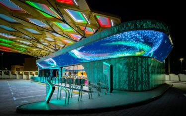 ENOC Tankstelle der Zukunft in Dubai (Foto: ENOC)