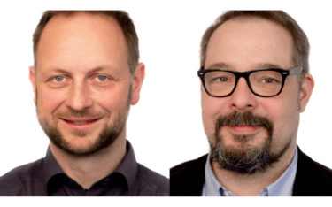 Neue Xplace-Geschaftsführung: CTO Stephan Lange und CEO Frank Hagemann (Fotos: xplace)