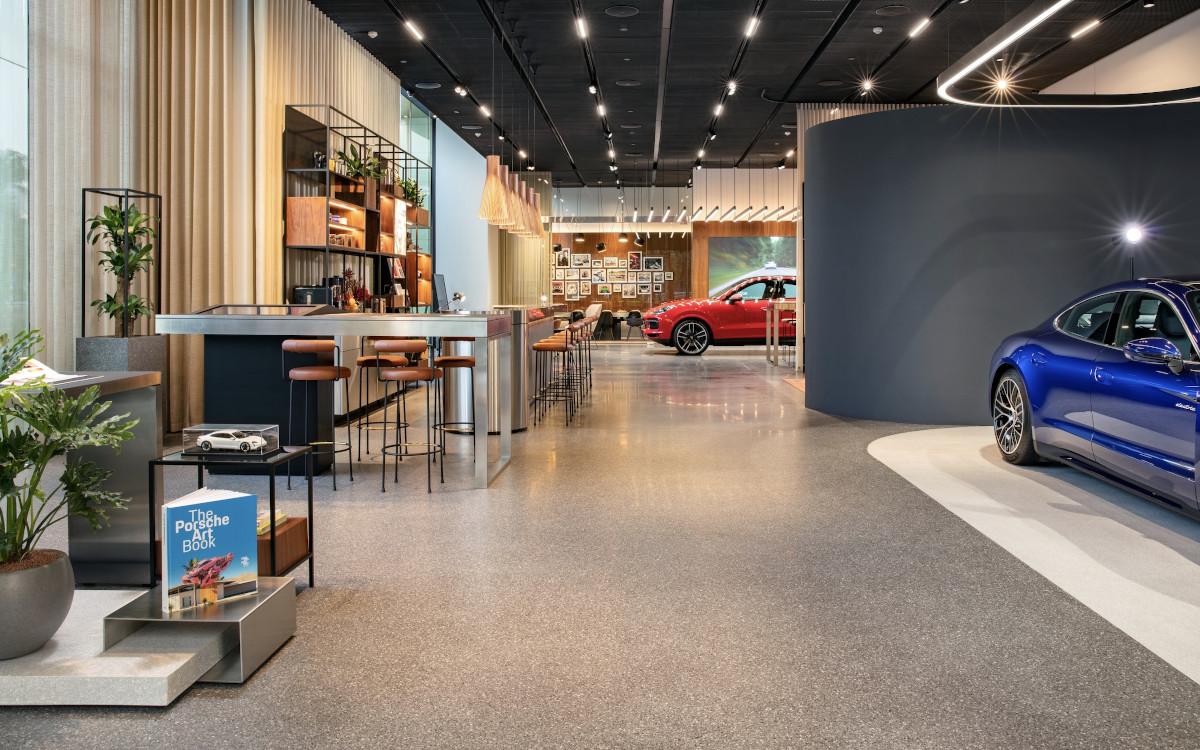 Porsche Studio in Hanoi / Vietnam (Foto: Porsche)