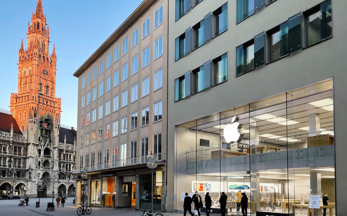 Apple Store in München (Foto: Apple)
