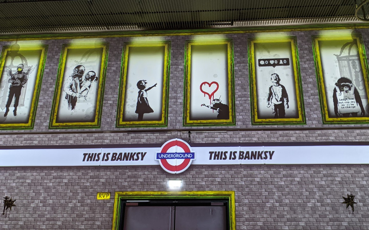 Banksy Digital in München (Foto: invidis)