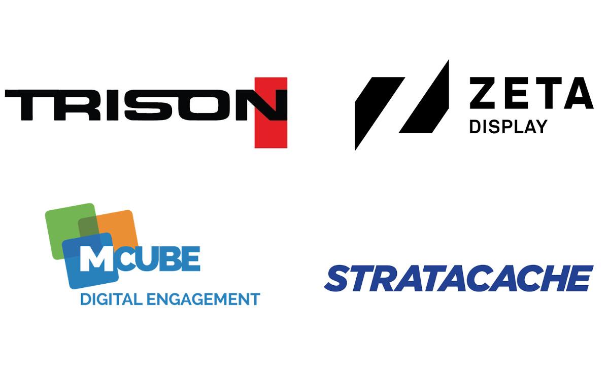 Digital Signage Big4 in Europa (Fotos: Unternehmen)