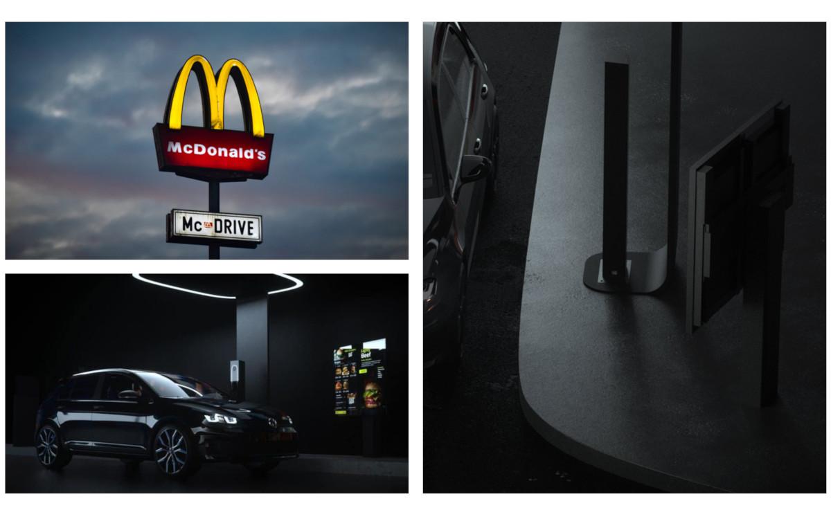 McDonalds Drive Thru Lösungen von Acrlec und LG (Fotos: Acrlec, Unsplash)