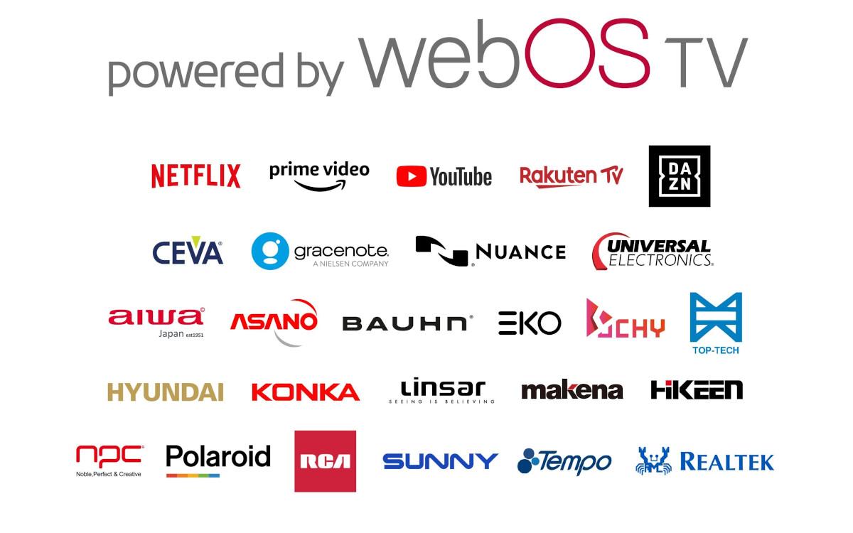 Mehr als 20 Partner nutzen bereits WebOS von LG (Foto: LG)