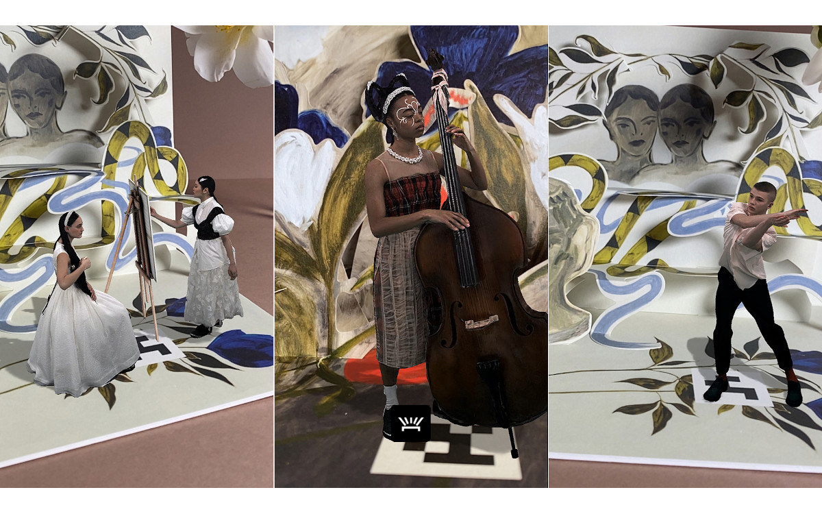 Simone Rocha X H&M AR Experience (Fotos: H&M)