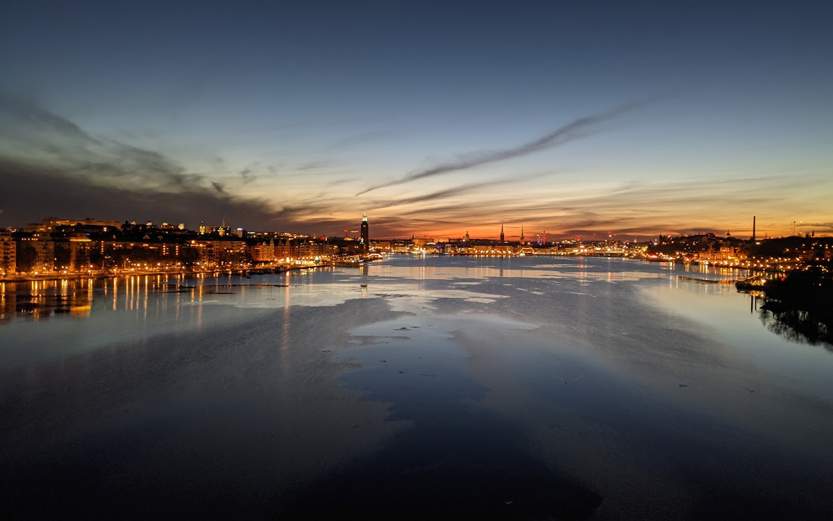 Sonnenaufgang in Stockholm (Foto: invidis)