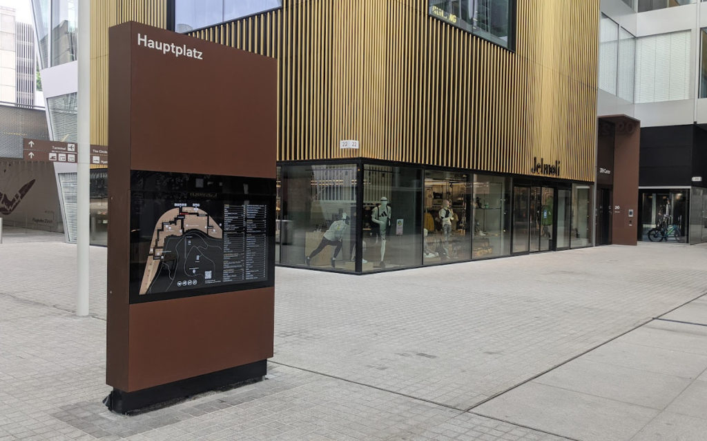 The Circle - Digital Signage trifft Architektur (Foto: invidis)