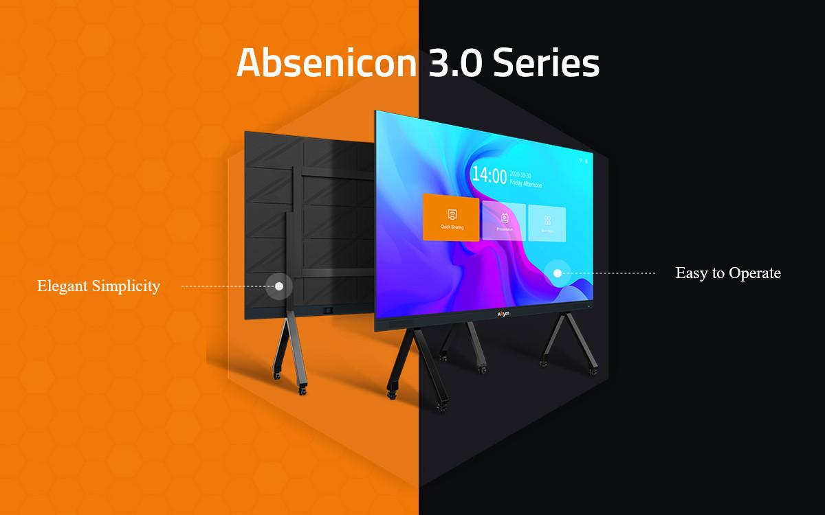Das neue Absenicon 3.0 von Absen verbindet digitale Kommunikation mit elegantem Design (Foto: Absen)