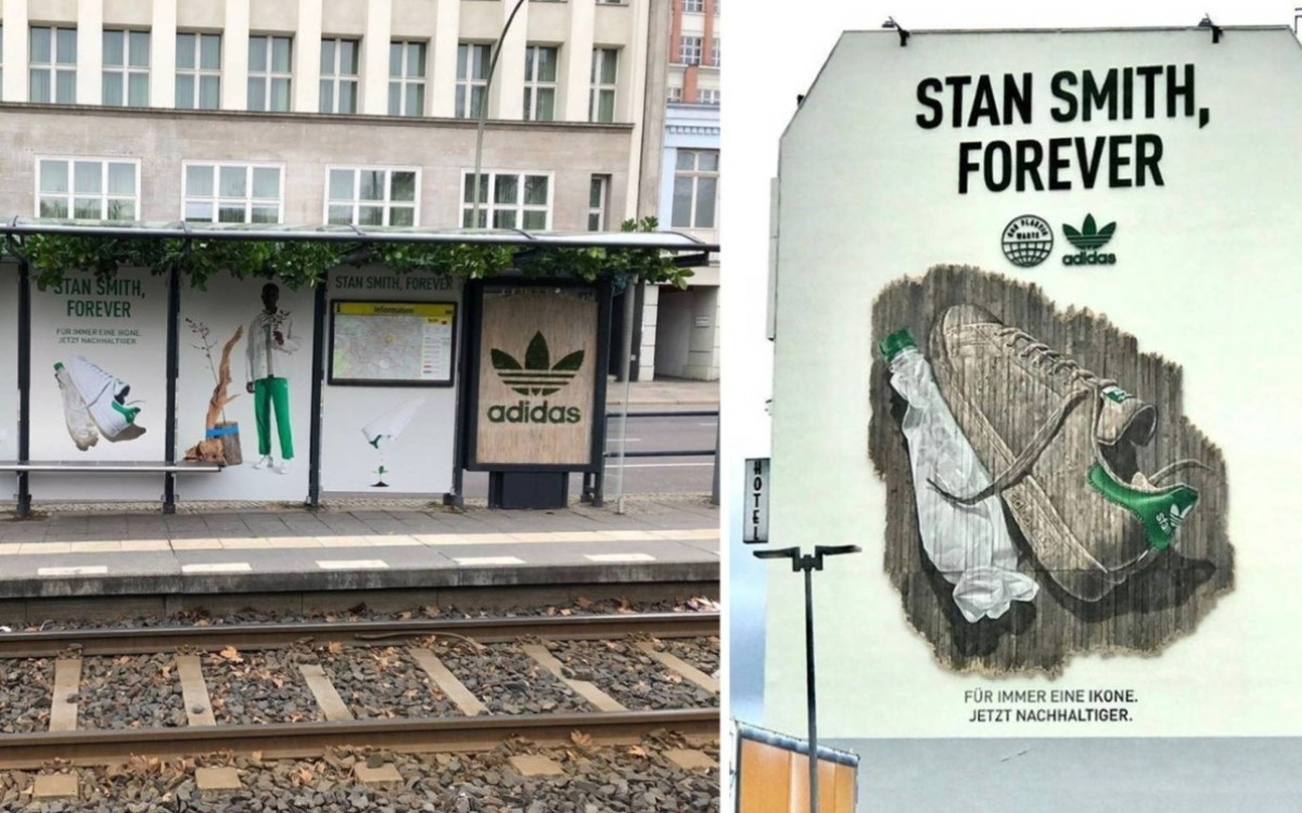 Eine Kampagne so nachhaltig wie der Schuh, den sie bewirbt – Adidas bewirbt den neuen Stan Smith (Foto: Adidas)