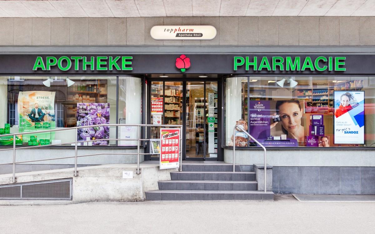 Advertima realisiert für TopPharm in der Schweiz ein AI-gesteuertes Digital Signage-Netzwerk mit Echtzeit-Targeting (Foto: Advertima)