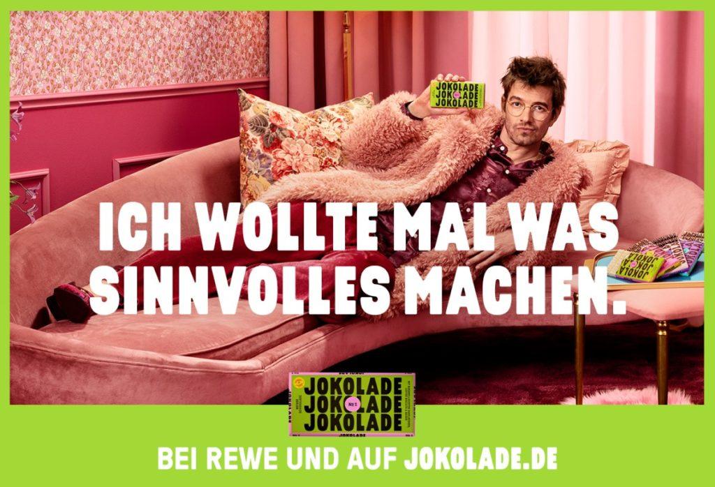 Motiv der Jokolade-Kampagne (Foto: cc15/WallDecaux)