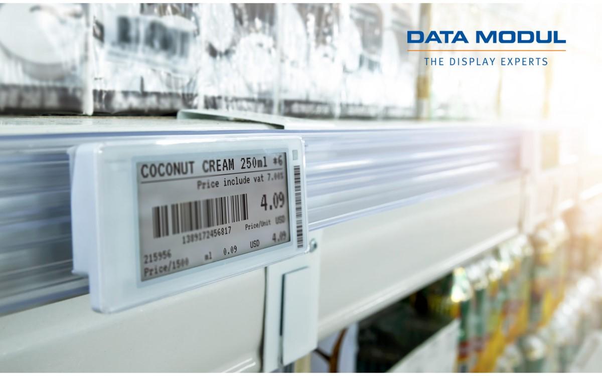 Data Modul nimmt die ePaper-Displays von E Ink ins Portfolio (Foto: Data Modul)