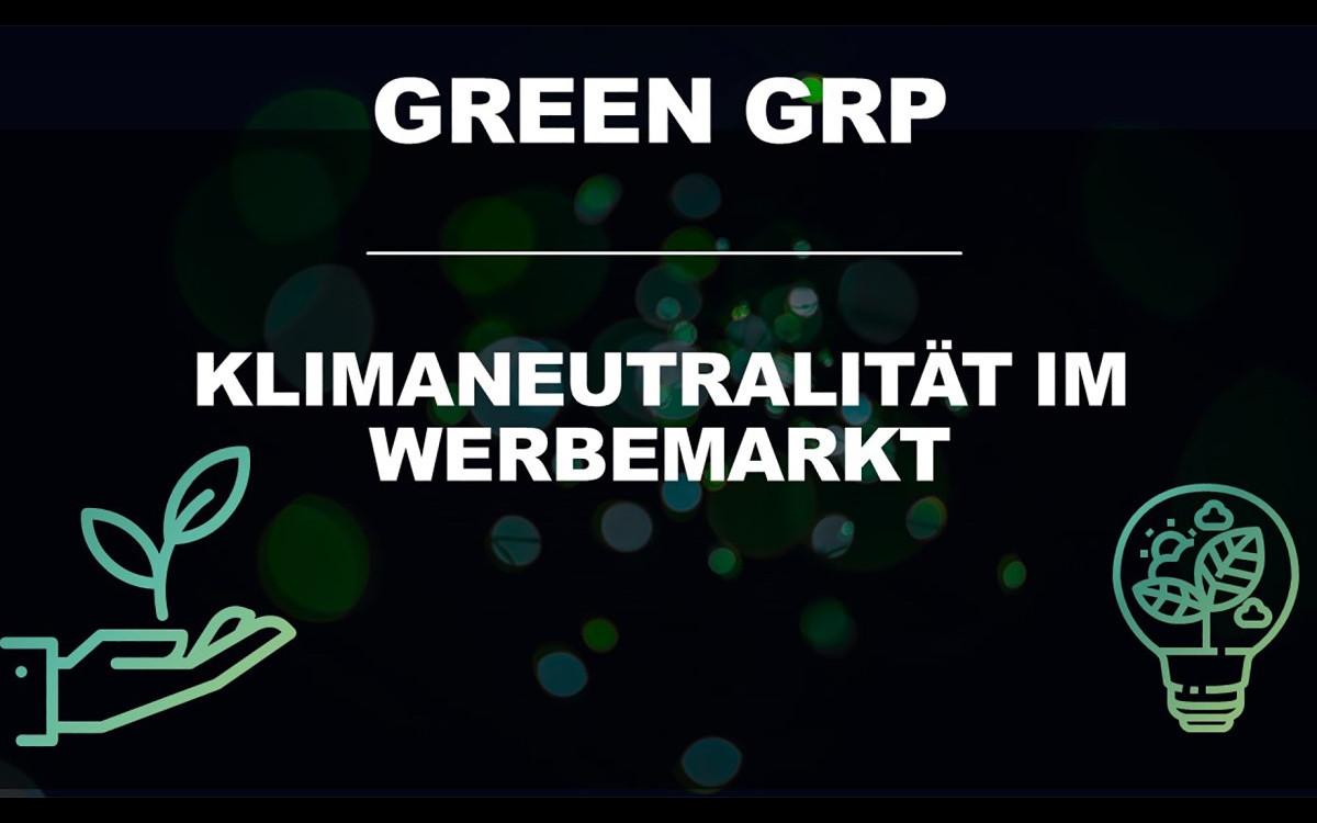 Die Green GRP Initiative bietet klimaneutralisierte Werbekampagnen einfach und medienübergreifend (Foto: Green GRP)