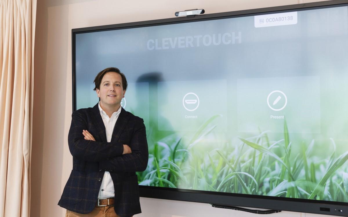 Karel Callens, CEO des belgischen Distributors Interactive Concept, bleibt auch nach der Übernahme durch Boxlight an der Spitze der neuen Sahara Presentation Systems Europe BV (Foto: Boxlight)