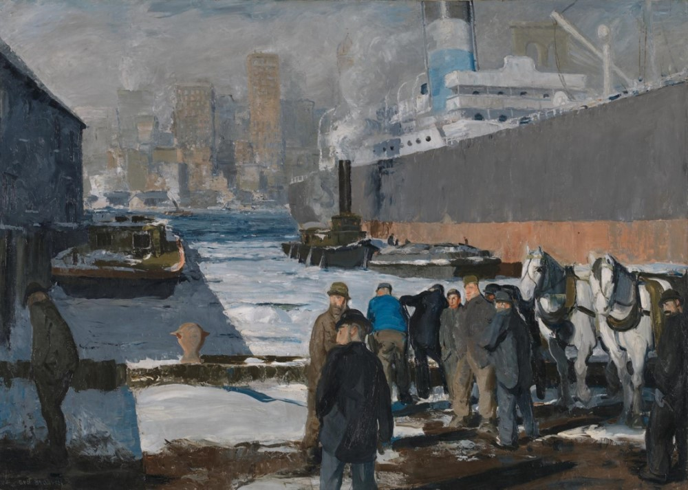 Men of the Docks (1912) von George Bellows (Foto: The National Gallery)