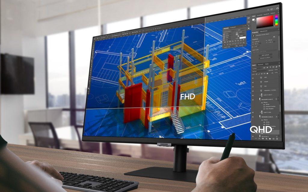 Mehr im Blick dank großer Monitore und hoher Auflösung (Foto: Samsung)