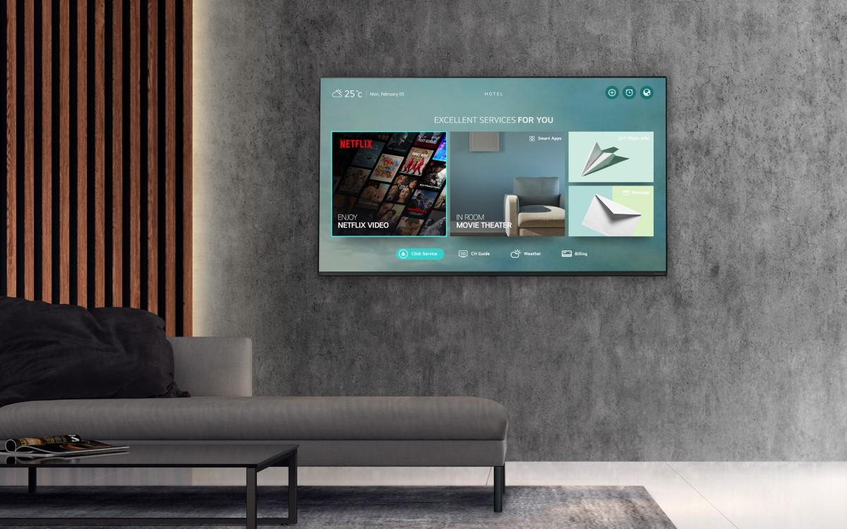 LG stärkt seine Partnerschaft mit Netflix und baut seine Unterstützung bei Hotel-TVs aus (Foto: LG Electronics)