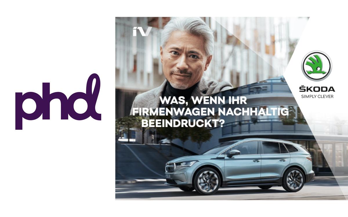 PHD demonstriert in der aktuellen kampagne für Skoda, wie kurz 40 Minuten sein können (Foto: PHD/Skoda)