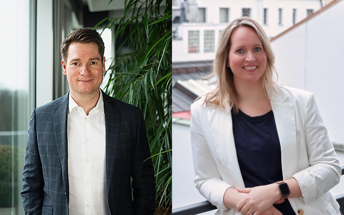 Benjamin Bunte und Katharina Baumann verstärken die Pilot Geschäftsführung in Hamburg und München (Foto: Benjamin Bunte/Katharina Baumann)