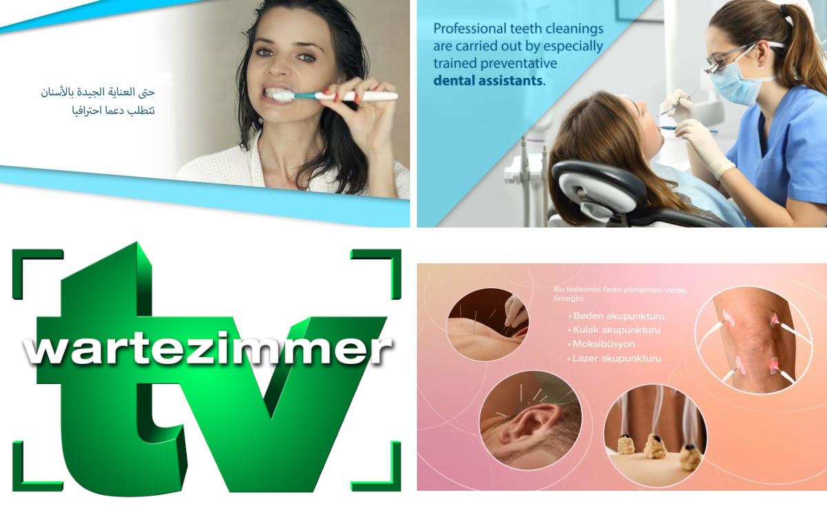 TV-Wartezimmer bietet seine Patientenfilme ab sofort in mehreren Sprachen wie Türkisch oder Englisch an (Foto: TV-Wartezimmer)