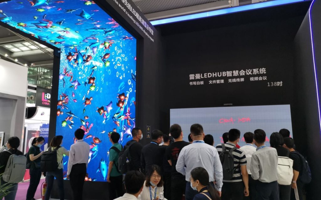 Ledman auf der LED China, die gerade in Shenzhen stattfindet (Foto: Ledman)