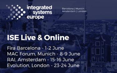 ISE 2021 - Digital und Live vor ORt (Foto: ISE)